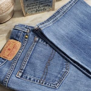 Lucky Brand Womans Wide leg Jeans